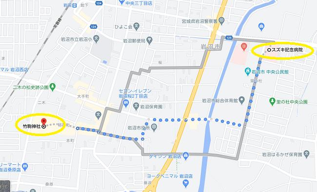 竹駒神社 初詣駐車場⑧