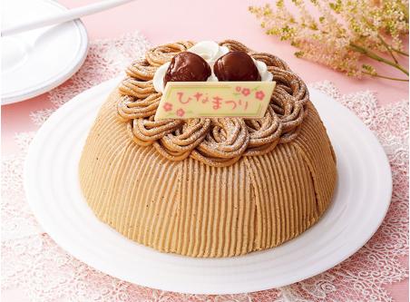 セブンひなまつりケーキ2020